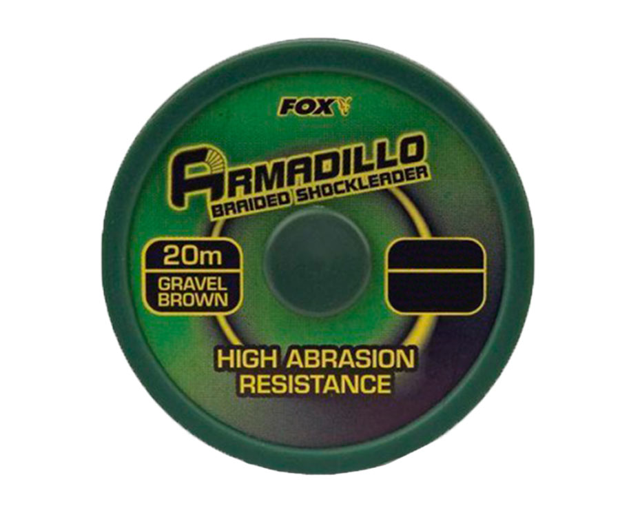 Шок-лидер FOX Armadillo 45 lb Brown