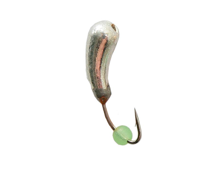 Мормышка вольфрамовая Flagman Уралка d=3 серебро