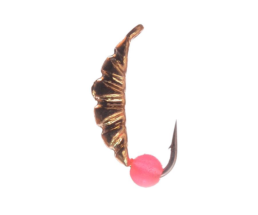 Мормышка вольфрамовая Flagman Опарыш d=2.5 золото