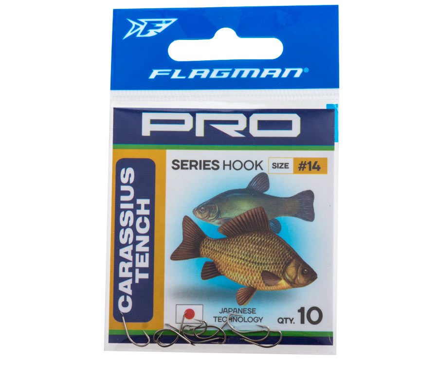 Крючки Flagman Carassius Tench Pro №18