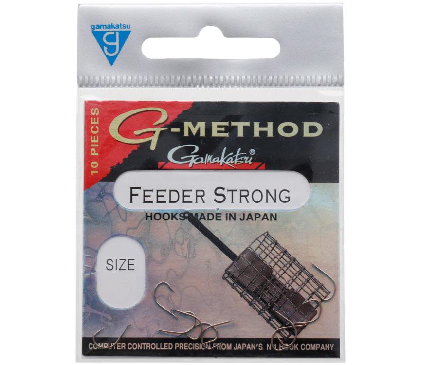Крючок Gamakatsu Feeder Strong B №10