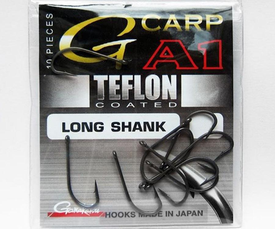 Крючок Gamakatsu G-Carp A-1 Long Shank №8