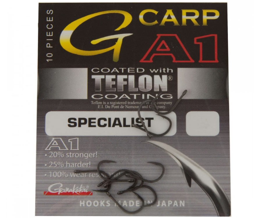 Крючок Gamakatsu G-Carp A-1 Specialist №8