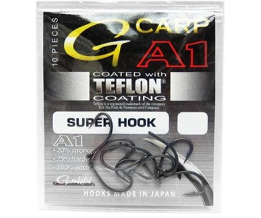 Крючок Gamakatsu G-Carp A-1 Super Hook №4