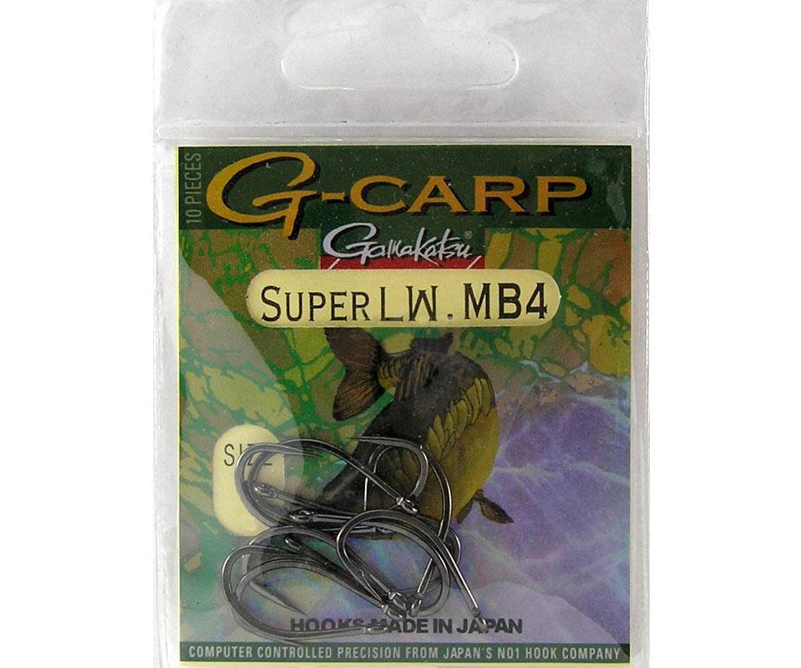Крючок Gamakatsu G-Carp Super LW MB4 №4