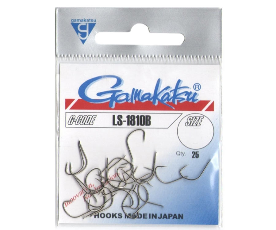 Крючок Gamakatsu LS-1810B Brown №14