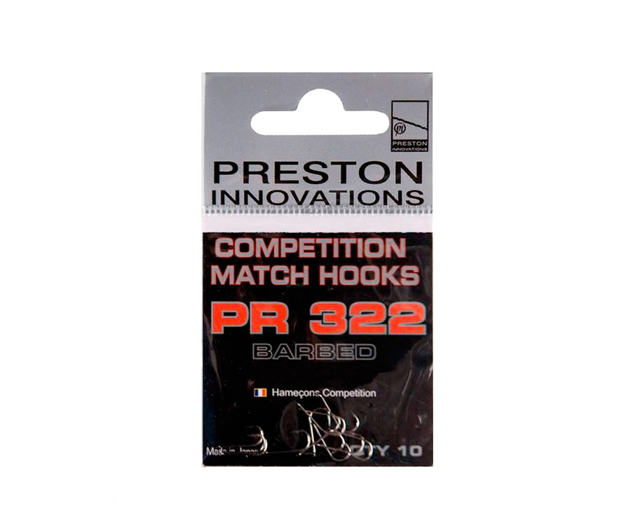 Крючки Preston Competition Match Hooks 322 №12