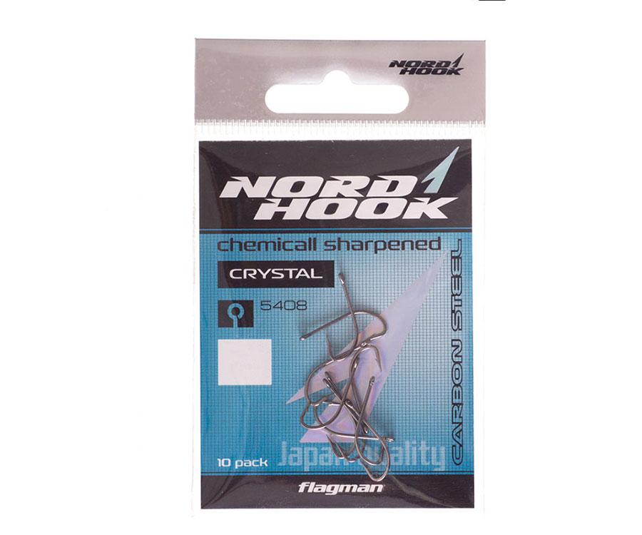 Крючки Nord Hook Crystal 5408 №10