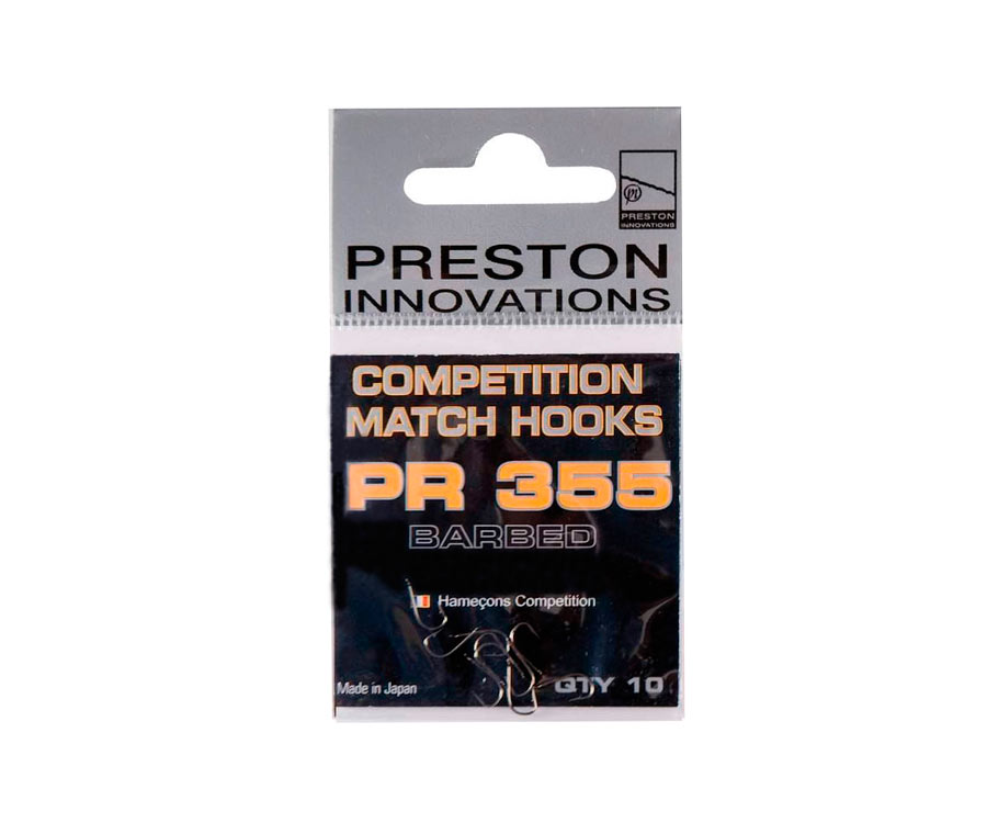 Крючки Preston Competition Match Hooks 355 №18