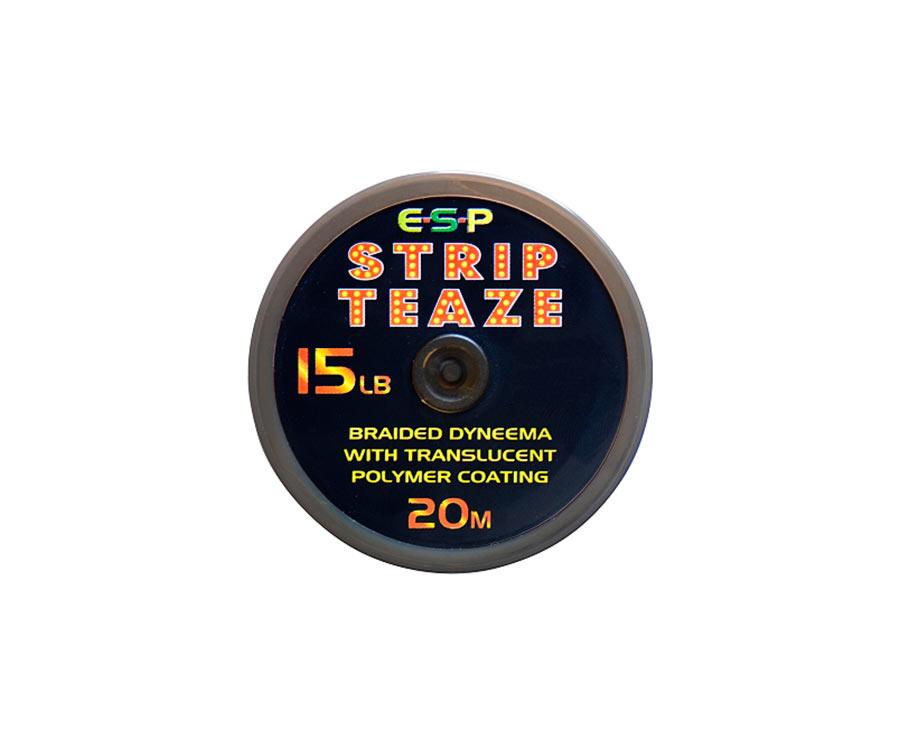 Поводковый материал ESP Stripteaze 15 lb Brown