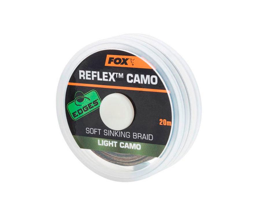 Поводковый материал FOX Reflex Sinking Light Camo 20 м 35 lb