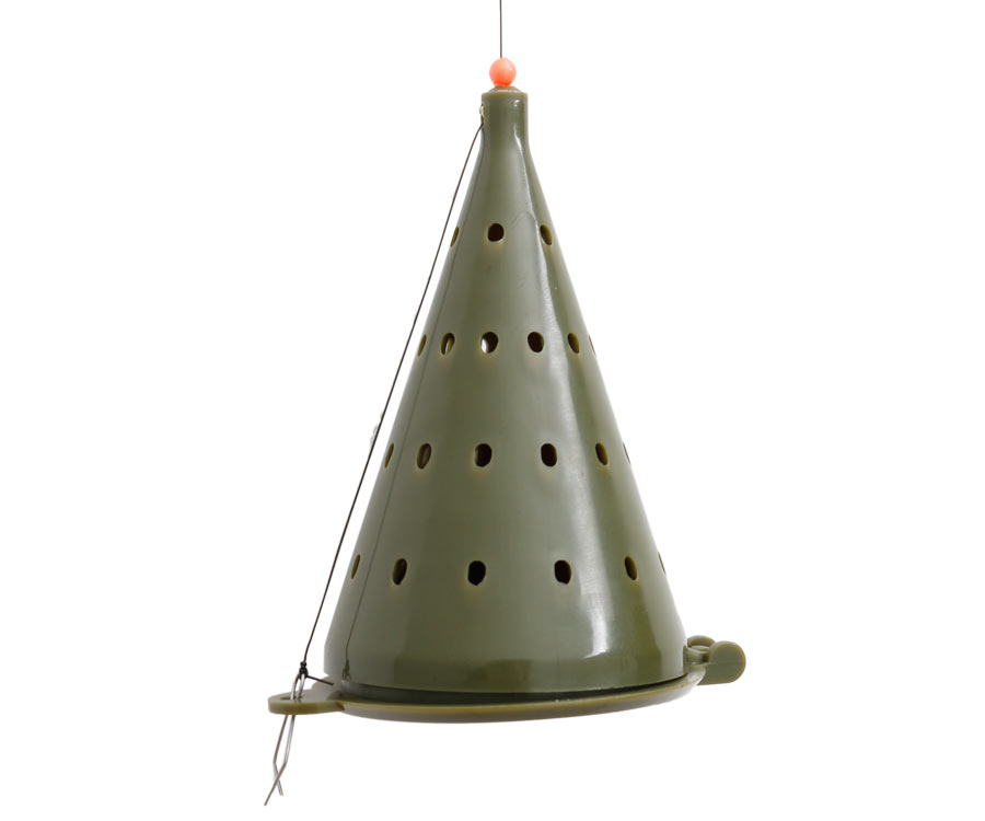 Кормушка-конус зимняя Flagman пластиковая D-100 мм