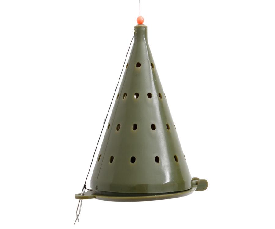 Кормушка-конус зимняя Flagman пластиковая D-75 мм