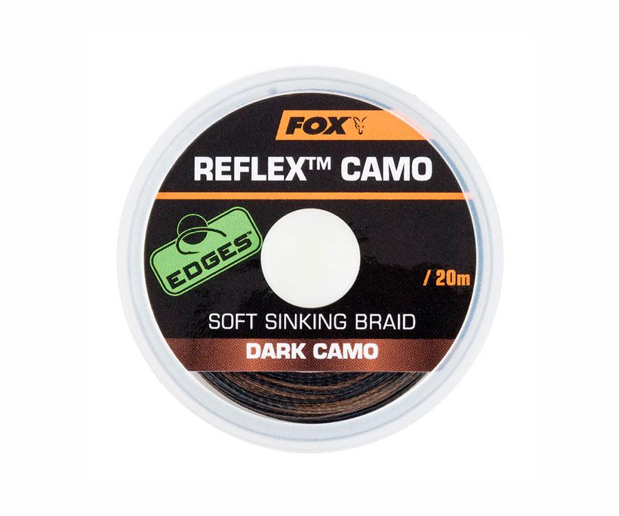 Поводковый материал FOX Reflex Dark Camo 20 м 15 lb