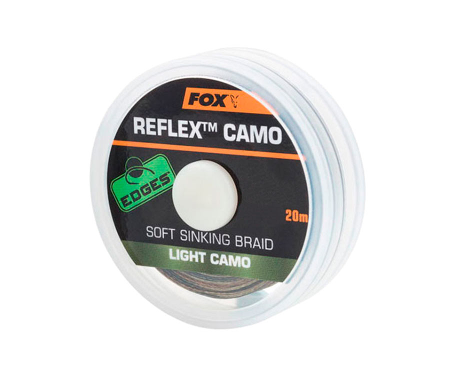 Поводковый материал FOX Reflex Light Camo 20 м 15 lb