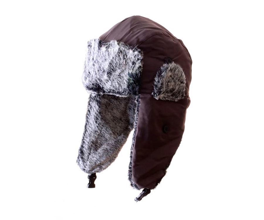 Шапка зимняя Flagman Aviator Hat Black