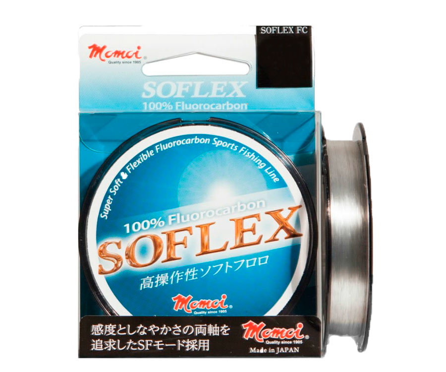 Леска Momoi Fluorocarbon Soflex FC 0.128мм 100м