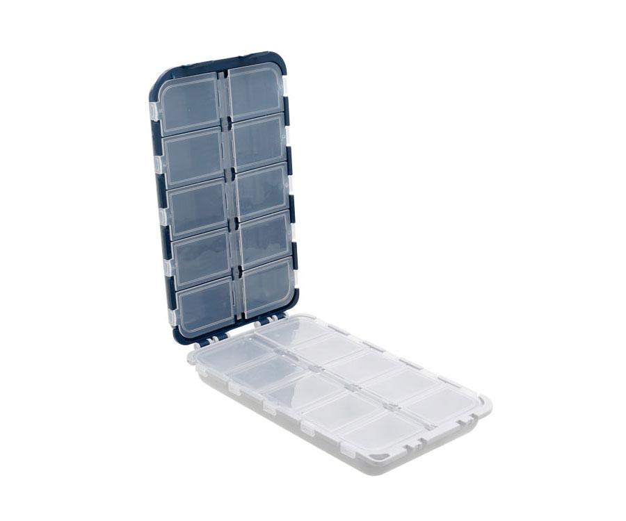 Коробка для крючков Flagman двусторонняя 20 отделений 17х9.7х4см