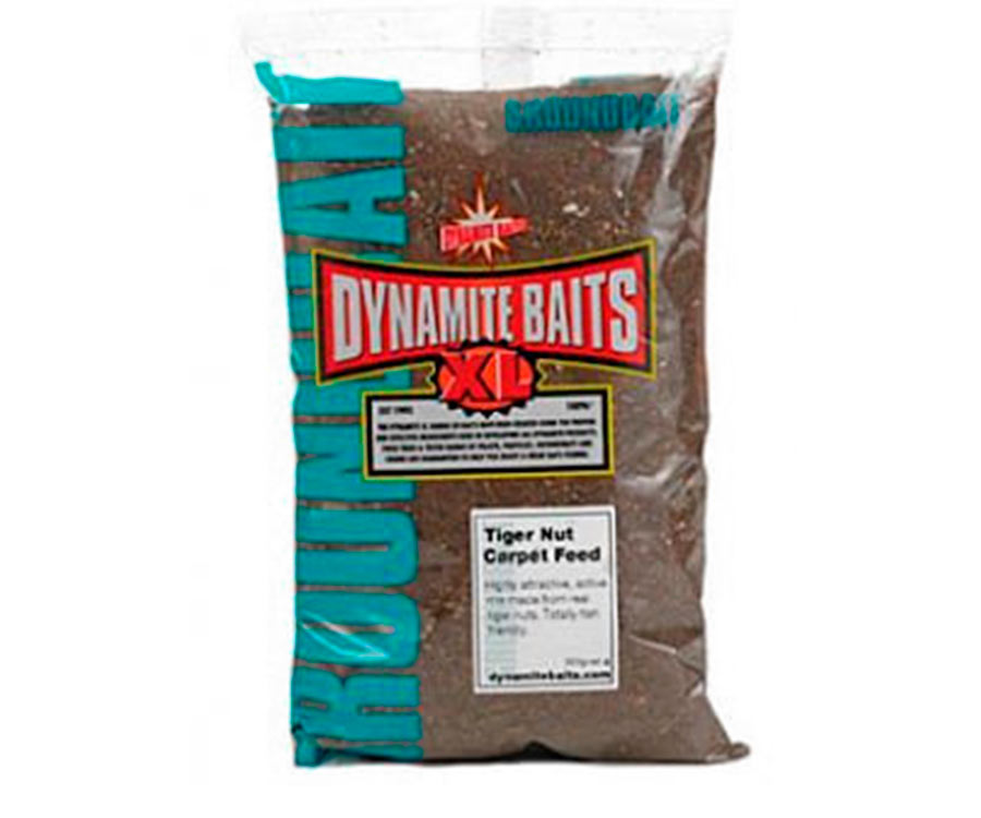 Прикормка Dynamite Baits Tiger Nut Carpet Feed 900г