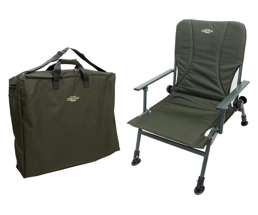 Набор акционный Carp Pro кресло карповое и чехол-сумка