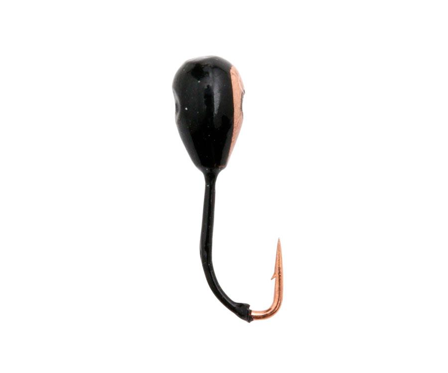 Купить Мормышки, Мормышка вольфрамовая Flagman Капля с отв. крашеная d=3.0 121