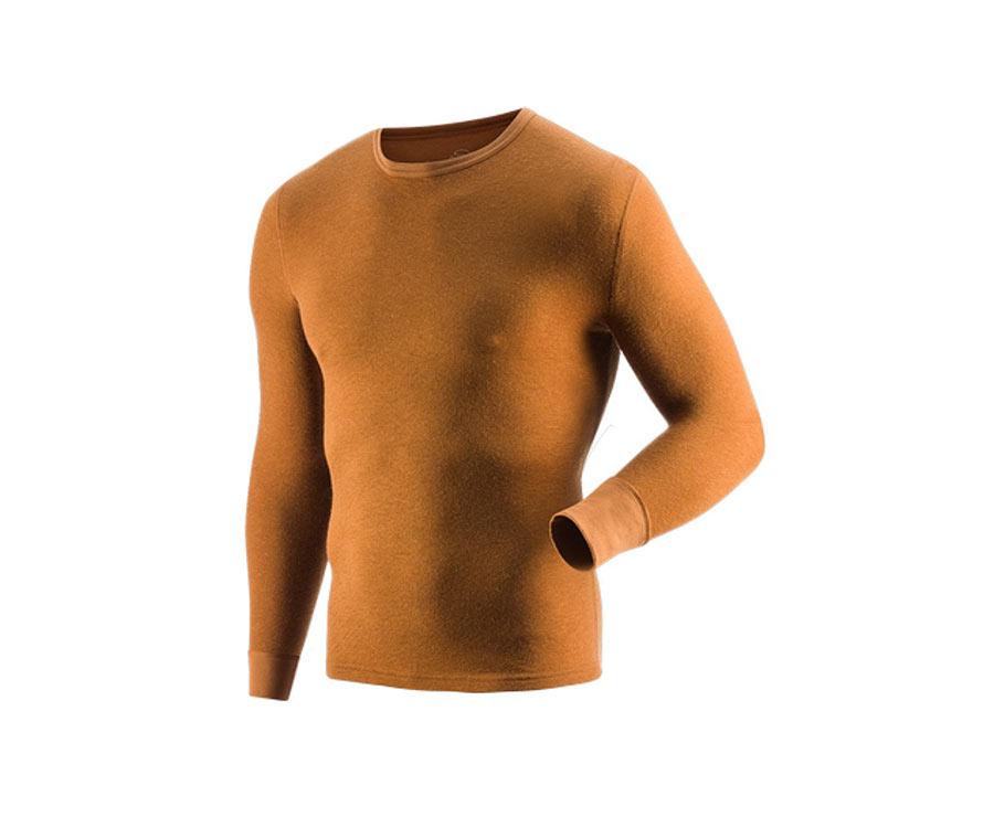 Термобелье Guahoo Outdoor Heavy brown, рубашка