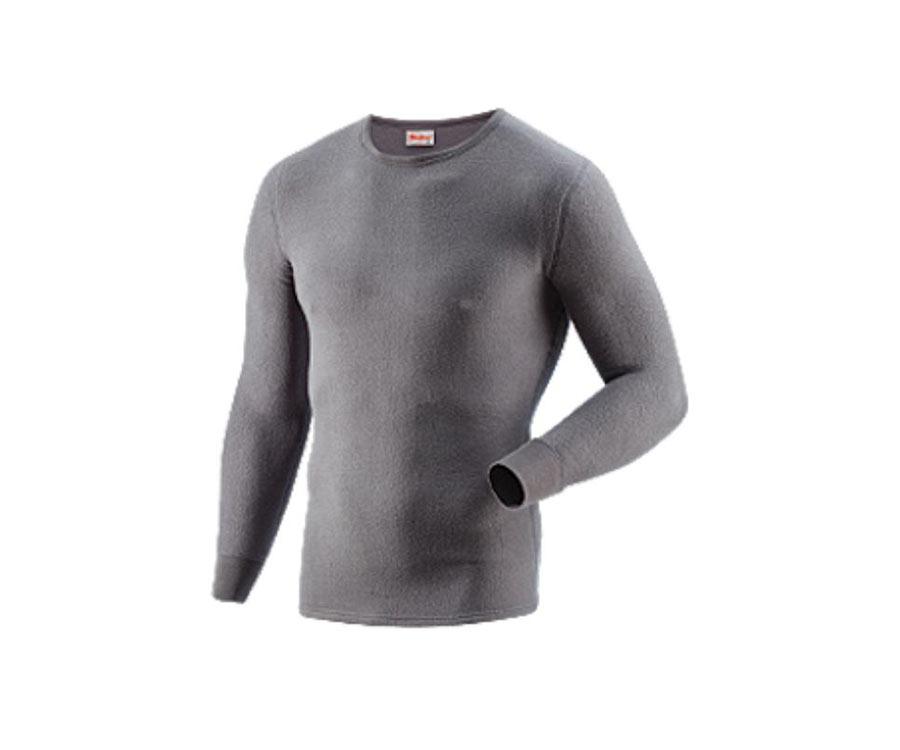 Термобелье Guahoo Outdoor Heavy dark grey, рубашка
