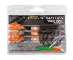 Готовые поводки Korum Xpert Power Mono Hair Rig Barbed №6