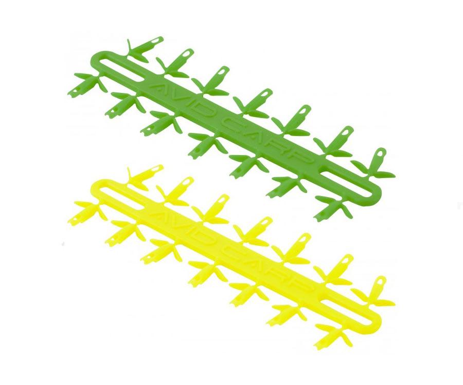 Стопор для насадки Avid Carp Super Hair Stops Yellow/Green