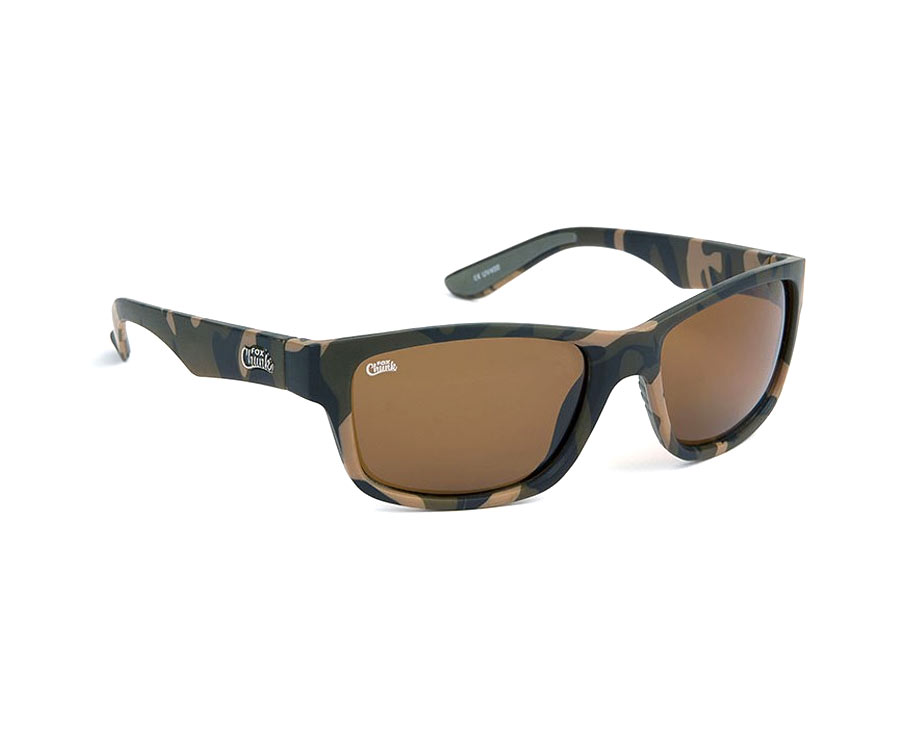 Очки поляризационные FOX Chunk Camo Frame Brown Lenses