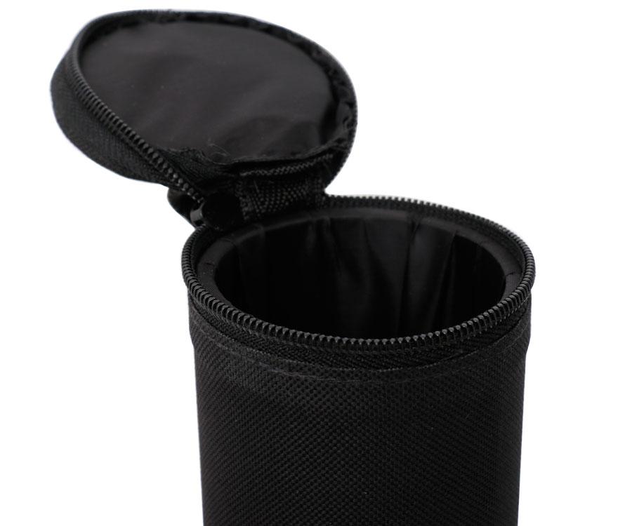 Тубус для удилищ Flagman круглый черный 9x130см