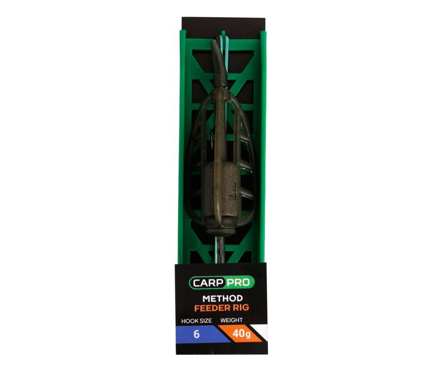 Готовая оснастка на ледкоре Carp Pro Method Feeder №6 40 г