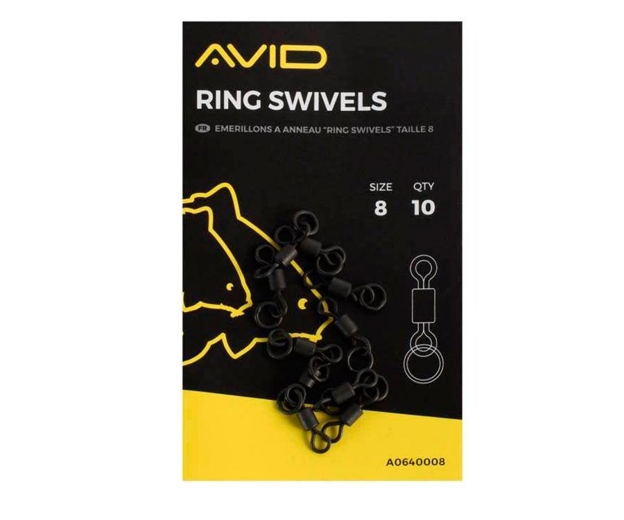 Вертлюг с кольцом Avid Carp Ring Swivels