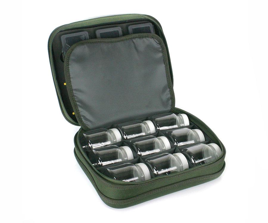 Сумка Carp Pro карповая+3 коробки+9 банок+поводочница Carp Pro