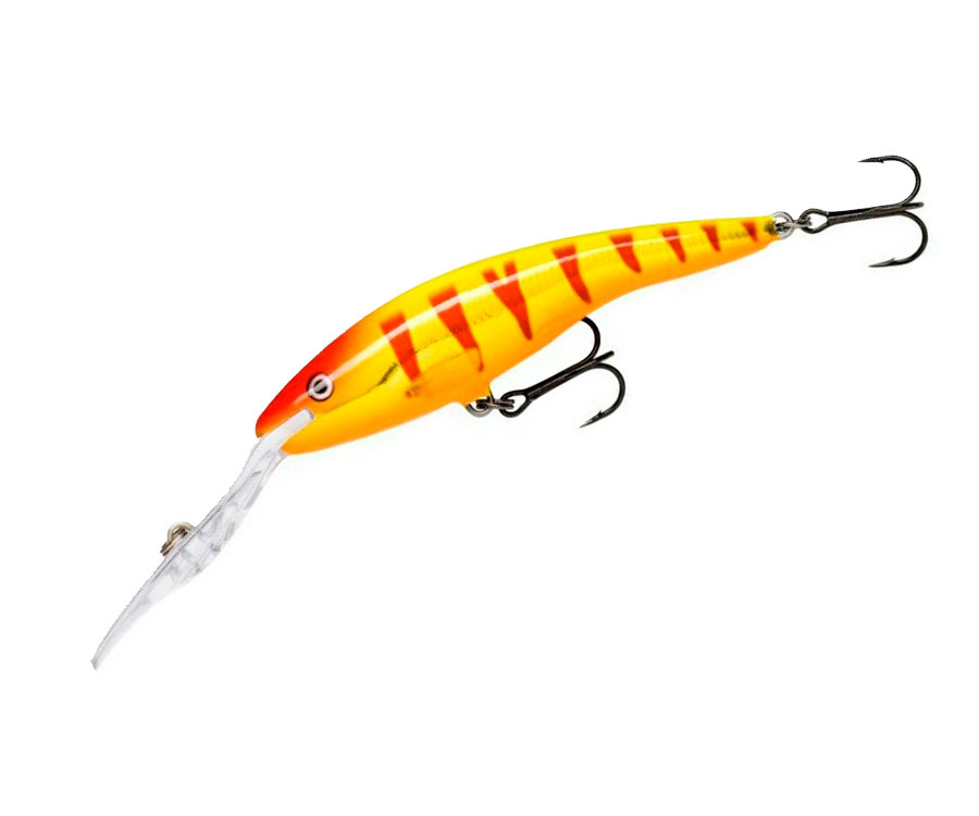 Воблер Rapala Deep Tail Dancer 130мм Clown Gold