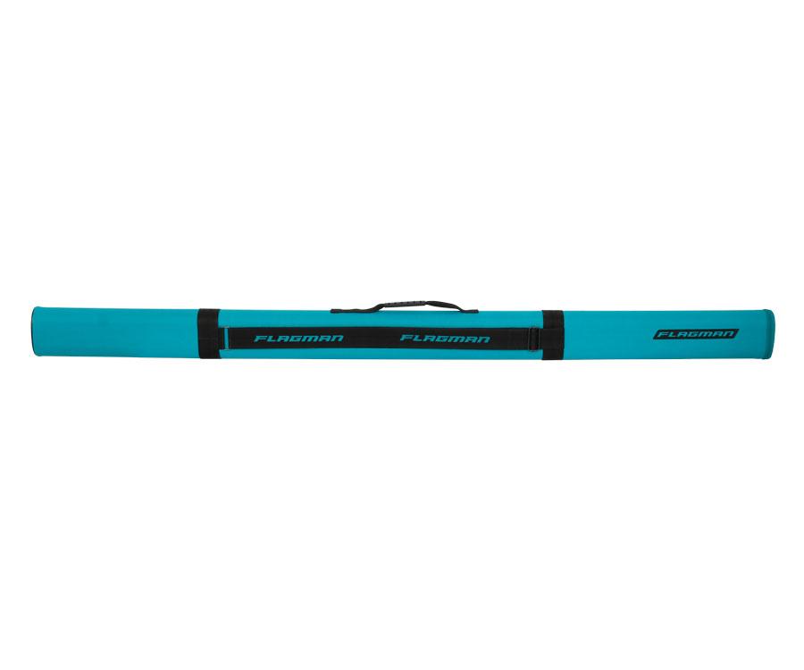 Тубус для удилищ Flagman овальный бирюза 125х65мм 135cм