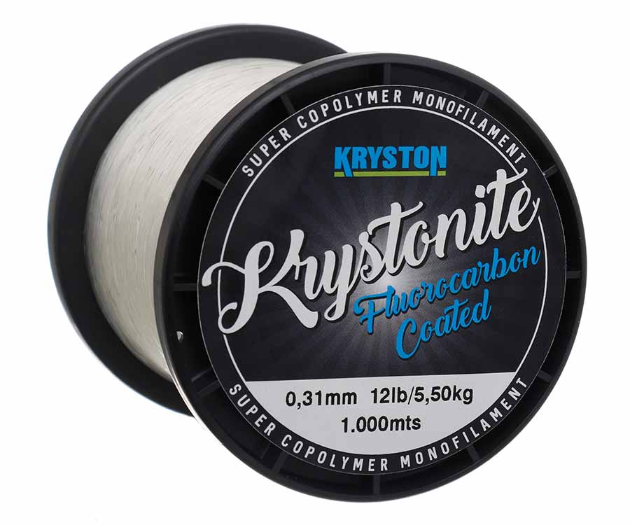 Леска Kryston Krystonite Super Mono 1000 м Clear 0,31 мм