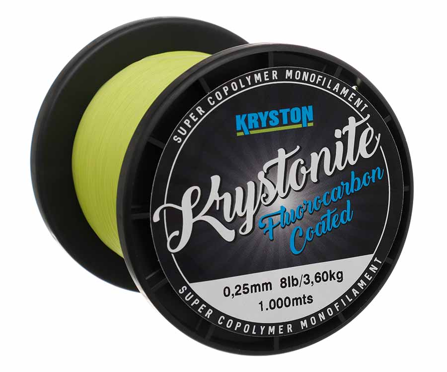 Леска Kryston Krystonite Super Mono 1000 м Chartreuse 0,25 мм