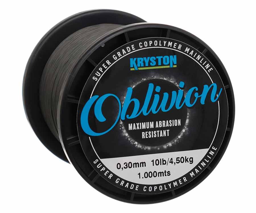 Леска Kryston Oblivion Super Grade Copolymer 1000м Matt Dark Silt  0.30мм