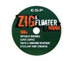 Поводковый материал ESP Zig&Floater Mono 100 м 10 lb