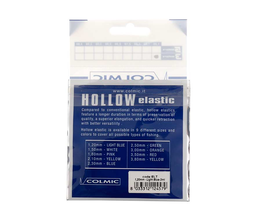 Амортизатор для штекера Colmic Hollow Elastic 3 м Blue 1,2 мм