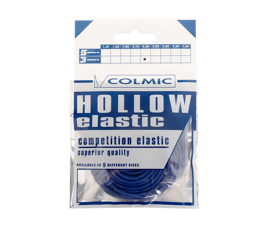 Амортизатор для штекера Colmic Hollow Elastic 3 м Blue 2,3 мм
