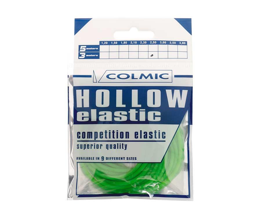 Амортизатор для штекера Colmic Hollow Elastic 3 м Green 2,5 мм