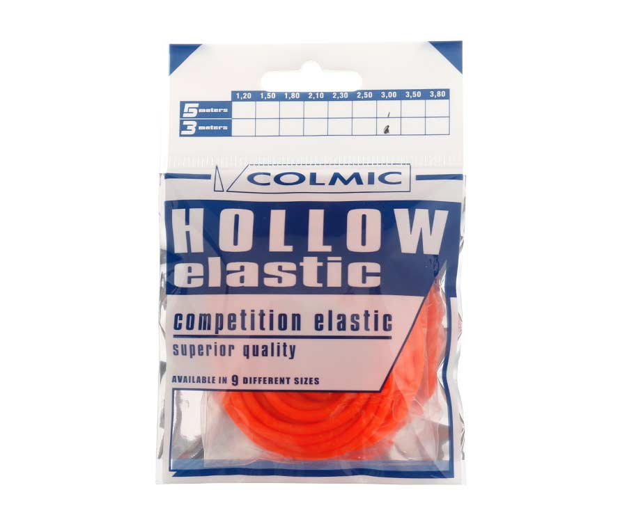 Амортизатор для штекера Colmic Hollow Elastic 3 м Orange 3 мм