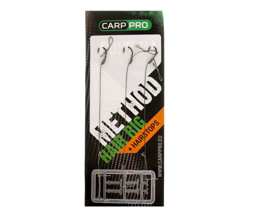 Готовый поводок с крючком Carp Pro Method Hair Rig Hooklink 15 lb №10