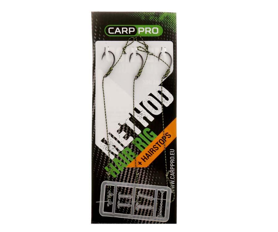Готовый поводок с крючком Carp Pro Method Hair Rig Hooklink 25 lb №6