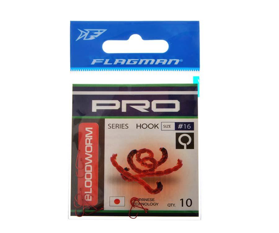 Крючки Flagman Bloodworm Pro №16