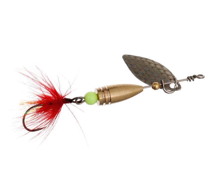 Блесна Flagman Wasp 2.6г Серебро Красная муха