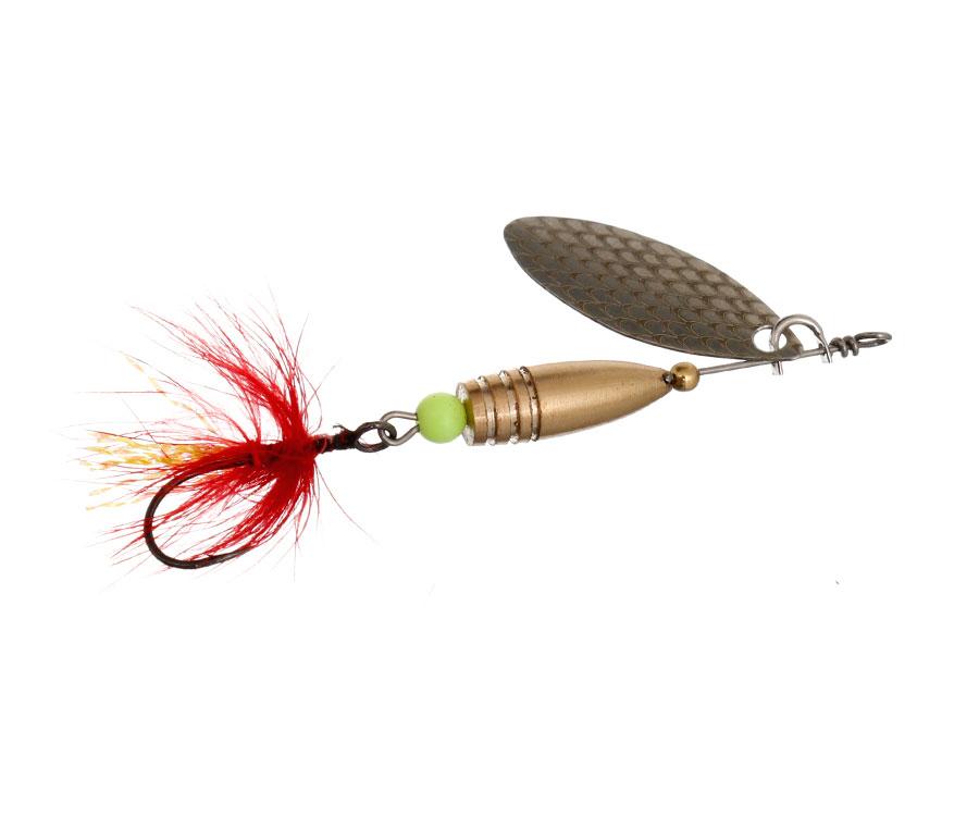 Блесна Flagman Wasp 3.5г Серебро Красная муха