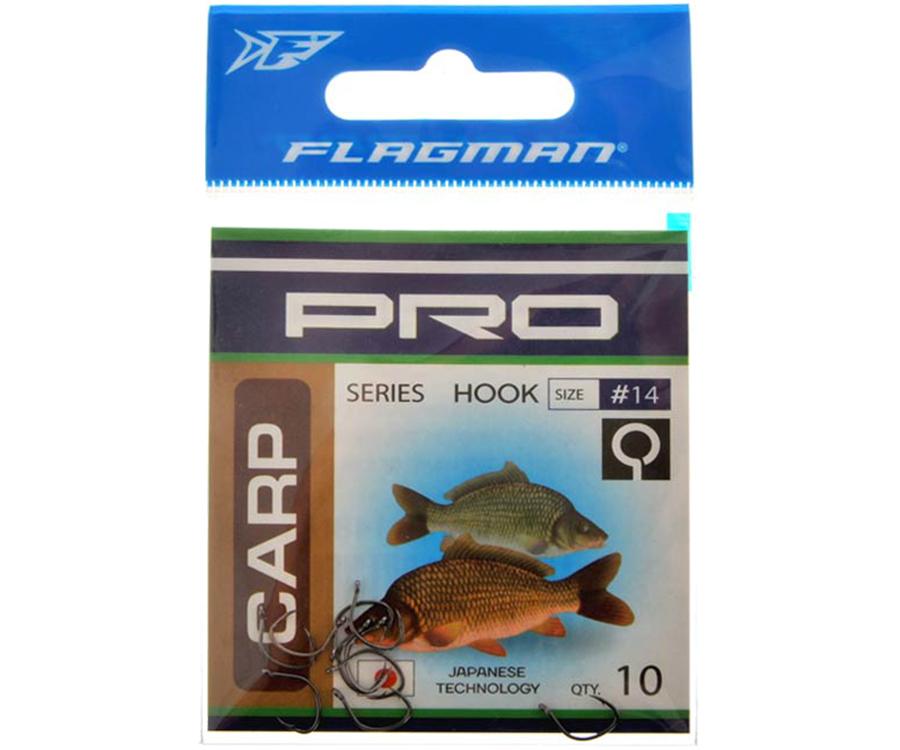 Крючки Flagman Pro Carp №16